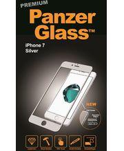 PanzerGlass ochranné tvrzené sklo pro Apple iPhone 7, stříbrná