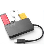 USB-C HUB 4USB porty - rozbočovač USB 3.0 pro telefon, tablet, Macbook